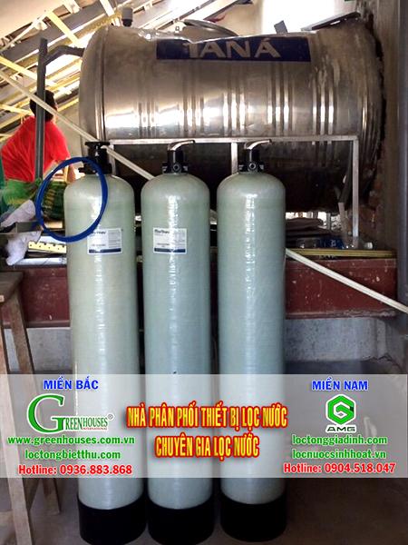 Lắp đặt hệ thống lọc nước tổng sinh hoạt tại Bắc Giang