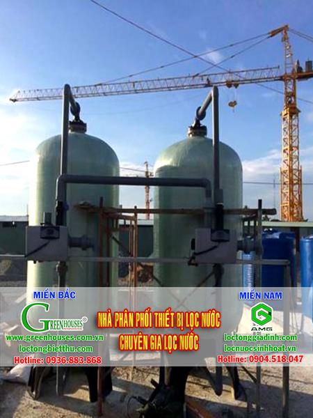 Hệ thống lọc nước giếng khoan công suất 20m3/ ngày