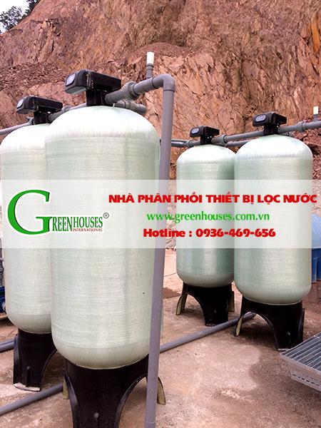 Hệ thống lọc nước giếng khoan công suất 15m3/ngày