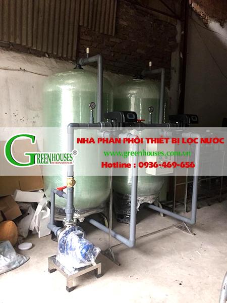 Hệ thống lọc nước giếng khoan công suất 25m3/ ngày