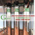 [Hà Nội] Lắp đặt hệ thống lọc nước cho nhà hàng phố Kim Mã