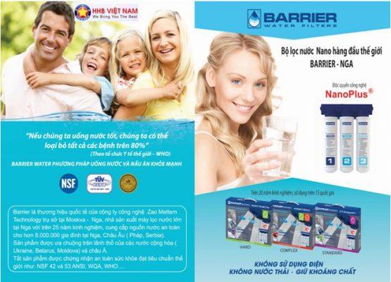 Máy lọc nước BARRIER PROFI BIG BLUE STANDARD
