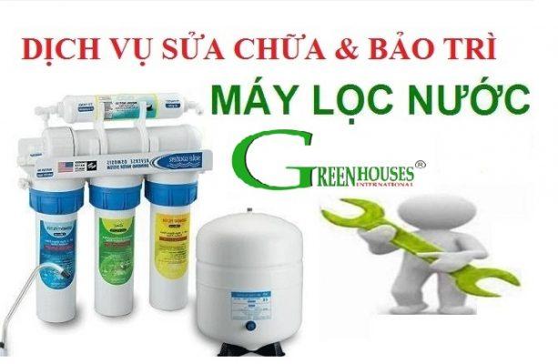 Dịch vụ sửa chữa máy lọc nước tại nhà GreenHouses