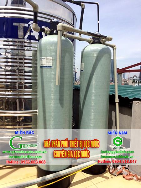 Hệ thống lọc nước giếng khoan tại Thành phố Ninh Bình