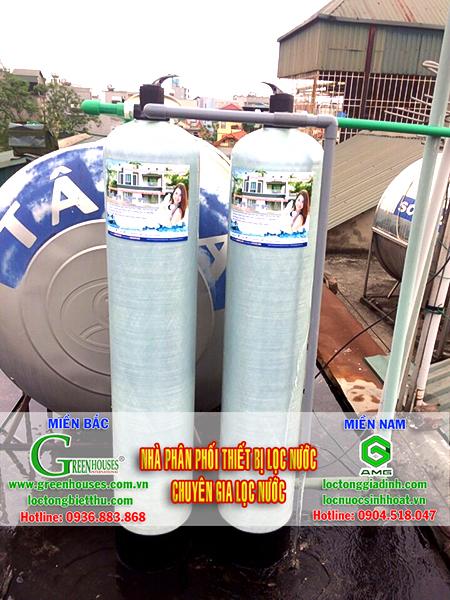 Lọc nước sinh hoạt tại phố Văn Cao tại nhà Anh Chiến