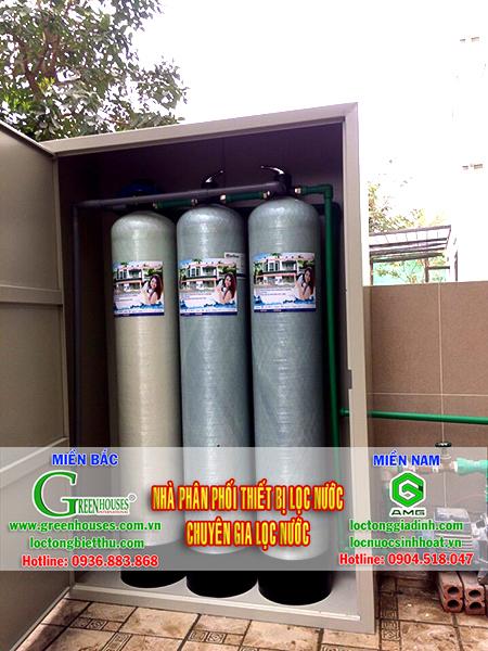 Lắp đặt hệ thống lọc nước tại Hoàng Hoa Thám