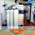 [Ninh Bình] Xử lý nước đá vôi tại Kim Sơn