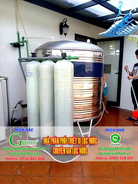 Hệ thống xử lý nước đá vôi tại Kim Sơn
