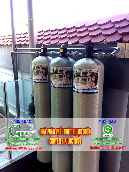 Xử lý nước giếng khoan tại Hoa Lư - Ninh Bình