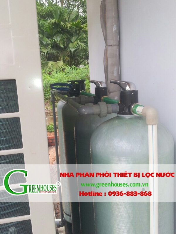 Hệ thống lọc nước đầu nguồn cho trang trại