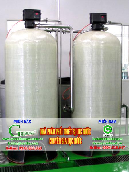 Hệ thống lọc nước sinh hoạt tại Nhà hàng Sen 84B Nguyễn Du