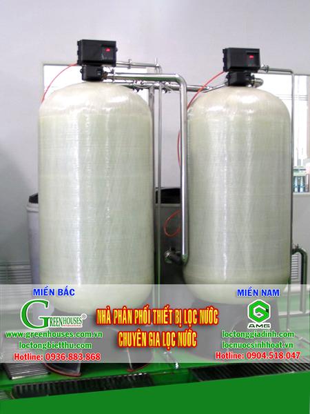 Hệ thống lọc nước giếng khoan công suất 10m3/ngày