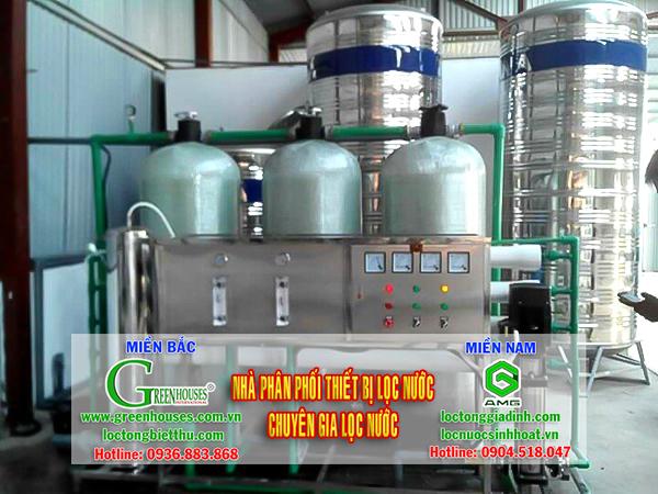 Hệ thống lọc nước giếng khoan công suất 5m3/ngày
